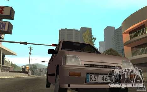 Daewoo Tico SX para GTA San Andreas left