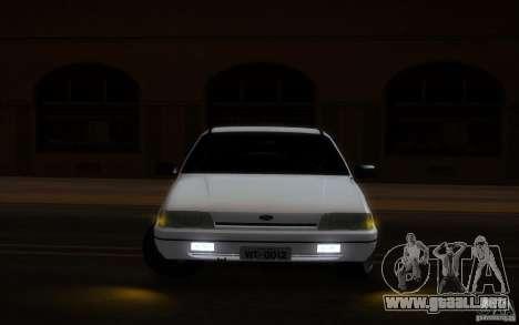 Ford Versailles 1992 para visión interna GTA San Andreas
