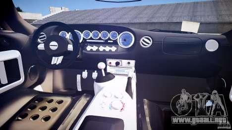 Ford GT1000 2006 Hennessey [EPM] EXTREME VERSION para GTA 4 visión correcta