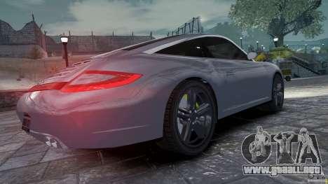 Porsche Targa 4S 2009 para GTA 4 visión correcta