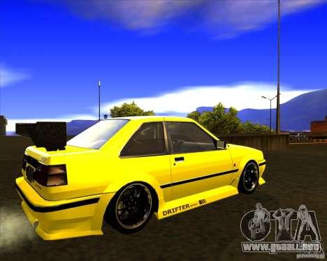 GTA VI Futo GT custom para GTA San Andreas vista posterior izquierda