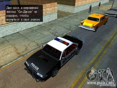 San-Fierro Sultan Copcar para la visión correcta GTA San Andreas