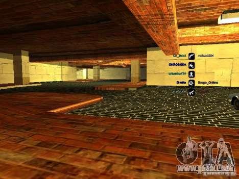 Nuevo garaje para policía para GTA San Andreas tercera pantalla