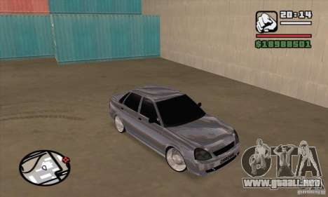 LADA 2170 cromo para GTA San Andreas