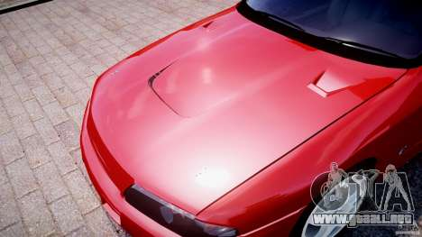 Nissan Skyline R32 GTS-t 1989 [Final] para GTA 4 interior