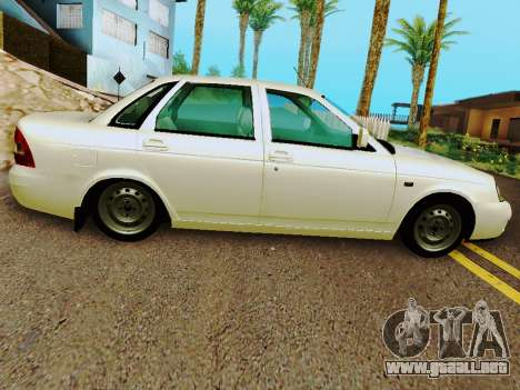 LADA 2170 Suite v2 para GTA San Andreas left