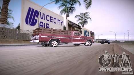 Ford F-100 1981 para GTA Vice City left