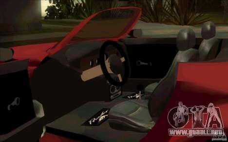 Plymouth Prowler para GTA San Andreas vista hacia atrás