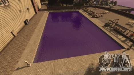 El color púrpura del agua para GTA 4 segundos de pantalla