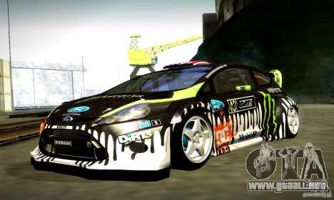 Ford Fiesta Gymkhana 4 para GTA San Andreas