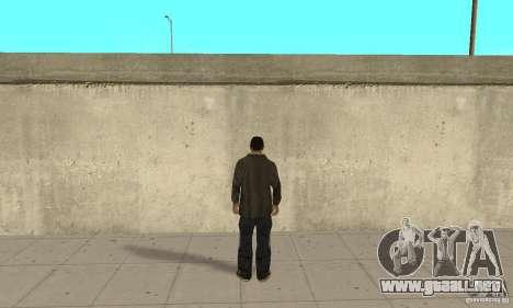 Niko Bellic para GTA San Andreas tercera pantalla