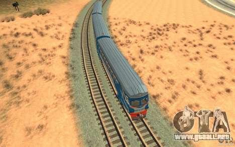 Tren ER2-K-1321 para visión interna GTA San Andreas