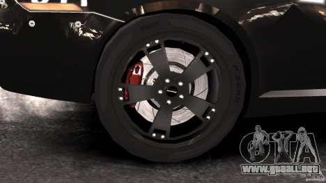 NFSOL State Police Car [ELS] para GTA 4 vista hacia atrás