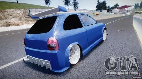 Chevrolet Corsa Extreme Revolution para GTA 4 Vista posterior izquierda