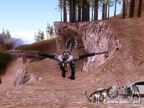 Dragón v2.0 para GTA San Andreas tercera pantalla