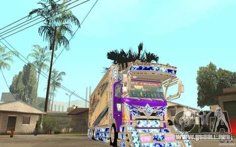 ART TRACK para GTA San Andreas vista hacia atrás