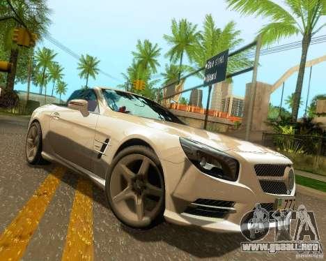 Mercedes-Benz SL350 2013 para las ruedas de GTA San Andreas