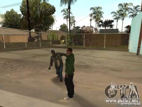Comportamiento de los demás para GTA San Andreas