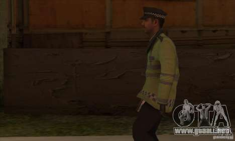 Una nueva policía para GTA San Andreas sucesivamente de pantalla