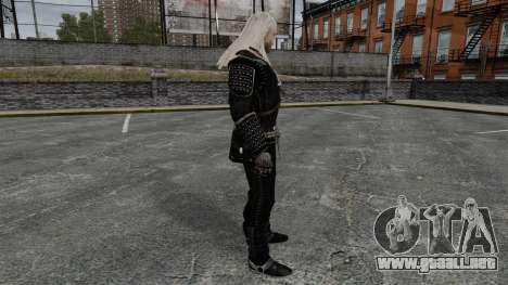 Geralt de Rivia v7 para GTA 4 segundos de pantalla