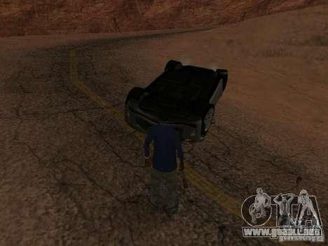 No te quemes coches volcados para GTA San Andreas octavo de pantalla