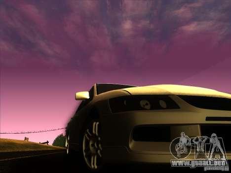 Mitsubishi Lancer Evolution IX MR para la vista superior GTA San Andreas
