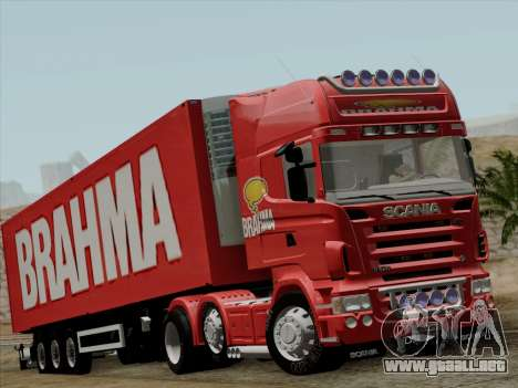 Scania R620 Brahma para GTA San Andreas left