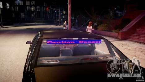 Chevrolet Caprice FBI v.1.0 [ELS] para GTA motor 4