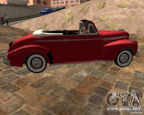 Chevrolet Special DeLuxe 1941 para GTA San Andreas left