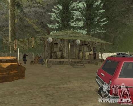 En una visita a la abuela para GTA San Andreas quinta pantalla