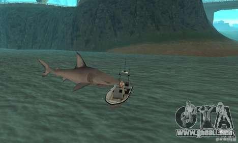 Shark Killer para GTA San Andreas sucesivamente de pantalla