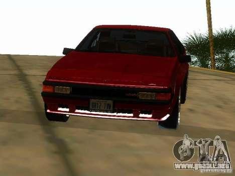 Toyota Celica Supra para visión interna GTA San Andreas