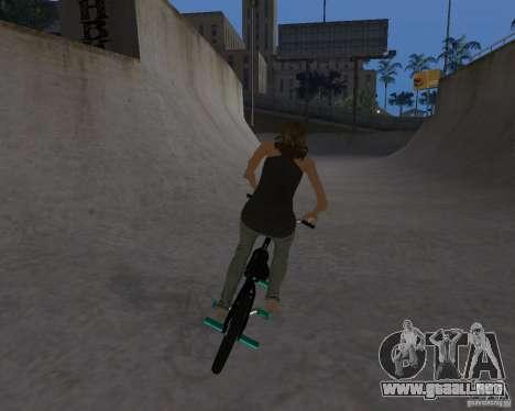 Tony Hawks Emily para GTA San Andreas tercera pantalla