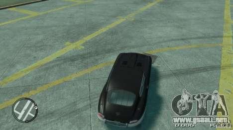 Jaguar XK E-type para GTA 4 Vista posterior izquierda