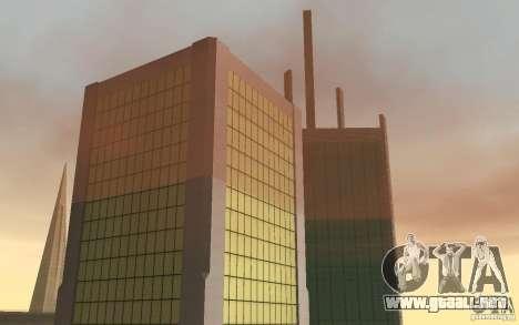 Rascacielos en San Fierro para GTA San Andreas sucesivamente de pantalla