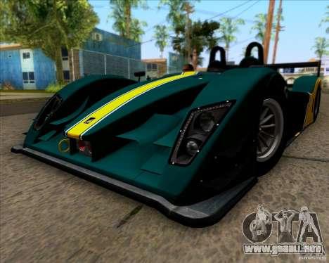 Caterham Lola SP300R para la visión correcta GTA San Andreas