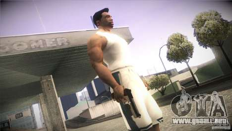 Weapon Pack by GVC Team para GTA San Andreas sexta pantalla