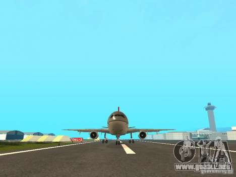 McDonell Douglas DC 10 Nortwest Airlines para GTA San Andreas left