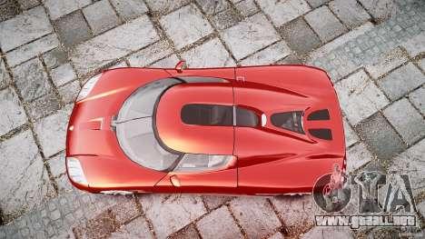 Koenigsegg CCX v1.1 para GTA 4 vista lateral