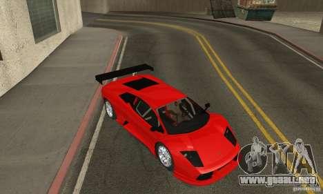 Lamborghini Murcielago R GT para visión interna GTA San Andreas