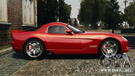Dodge Viper SRT-10 Coupe para GTA 4 left