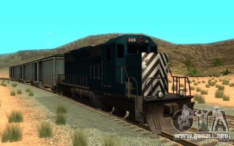 San Andreas Beta Train Mod para GTA San Andreas left
