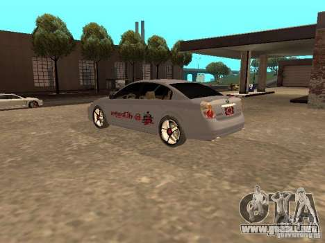 NISSAN ALTIMA para GTA San Andreas left