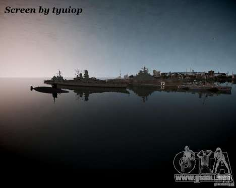 Marina de guerra para GTA 4 tercera pantalla