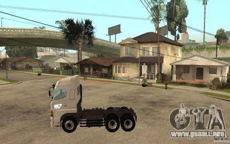 Hino 700 Series para GTA San Andreas left