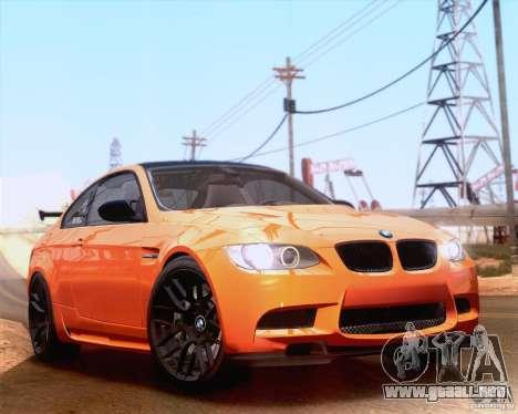 BMW M3 GT-S 2011 para GTA San Andreas