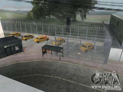 El primer taxi Parque versión 1.0 para GTA San Andreas segunda pantalla
