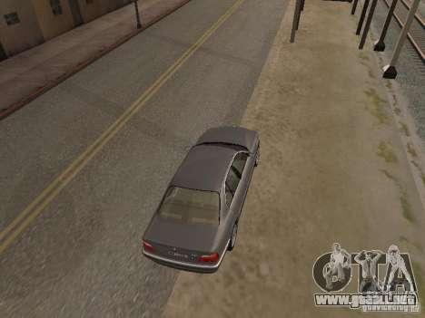 BMW 740 para la visión correcta GTA San Andreas