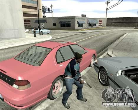 Cubierta del sistema para GTA San Andreas sexta pantalla
