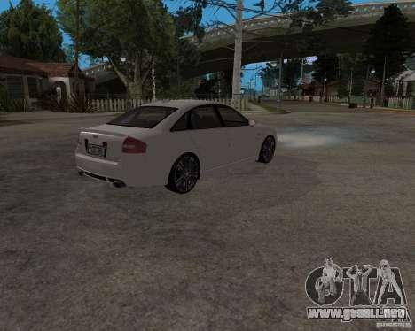 Audi RS6 (A6) para la visión correcta GTA San Andreas